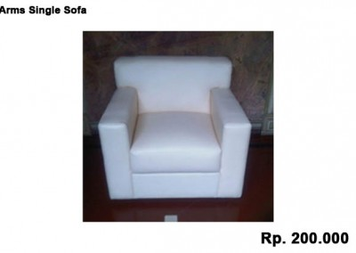 Arms Single Sofa