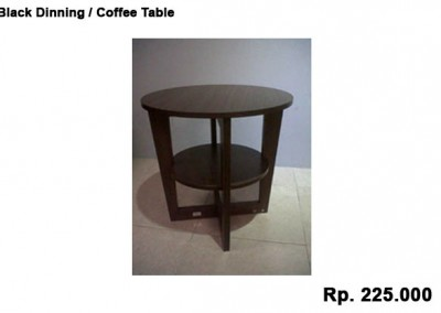 Black Dinning / Coffee Table