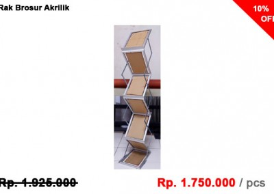 Rak Display Brosur