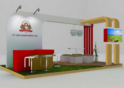 Indonesia Exhibition Trade Show Supplier for Sampoerna Info Contractor +628.2131.036.888