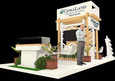 Stand Contractor Exhibition Booth Bali for Citraland Info +628.2131.036888