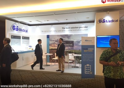 GS Medical Booth Stand Out in SRS World Wide Conference, Bali